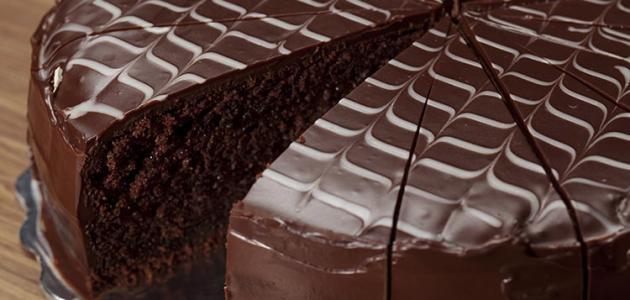 اسهل طريقة لعمل كيك الشوكولاتة