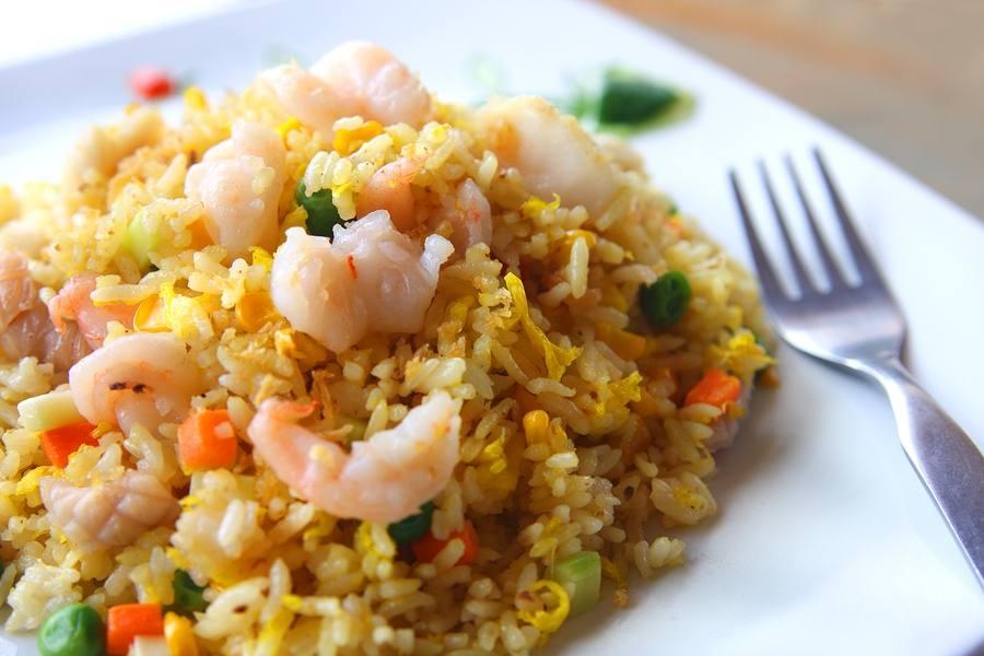 Photo of أرز بكوكتيل المأكولات البحرية